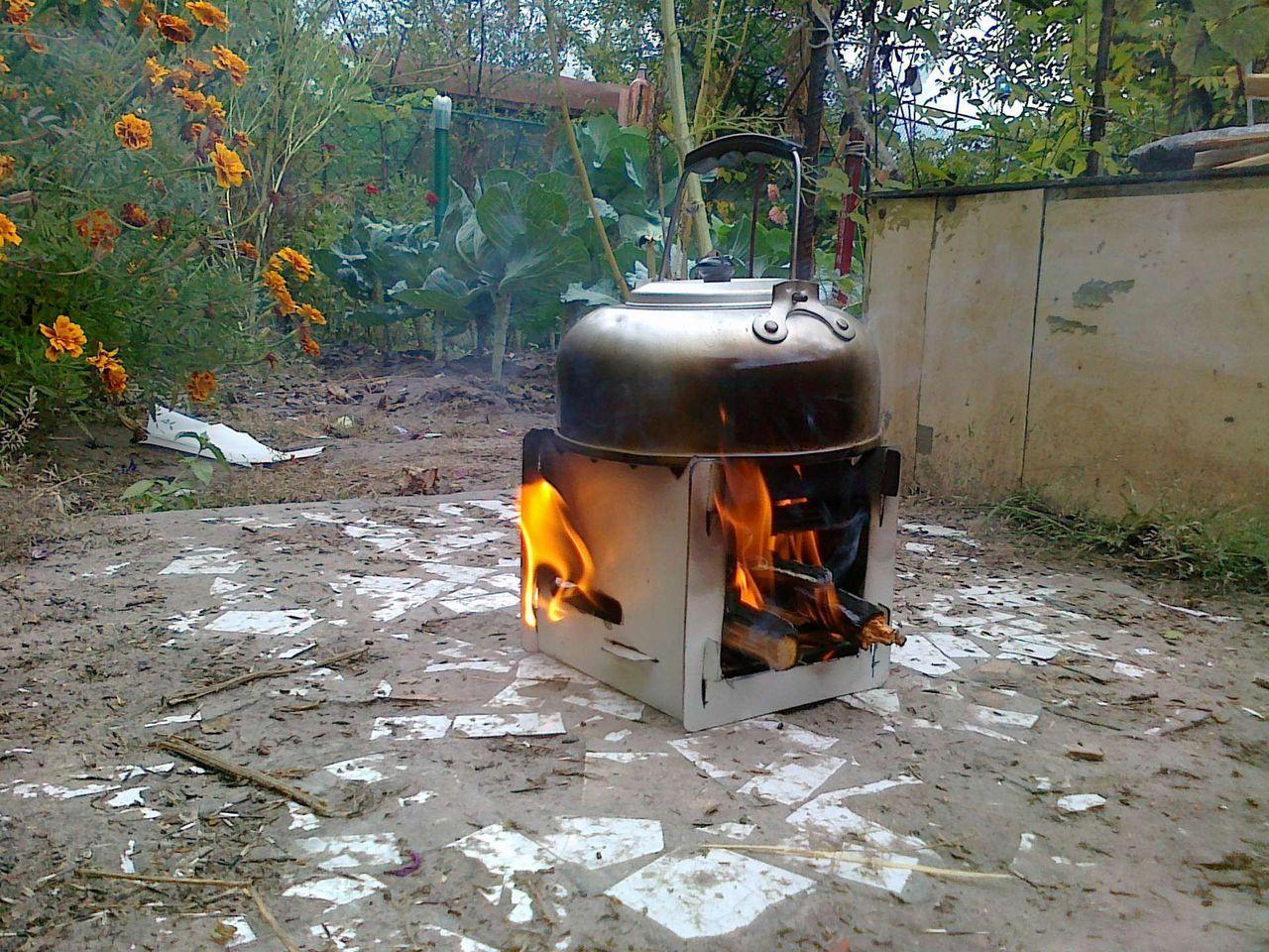 Печь для приготовления пищи на дровах своими руками 90