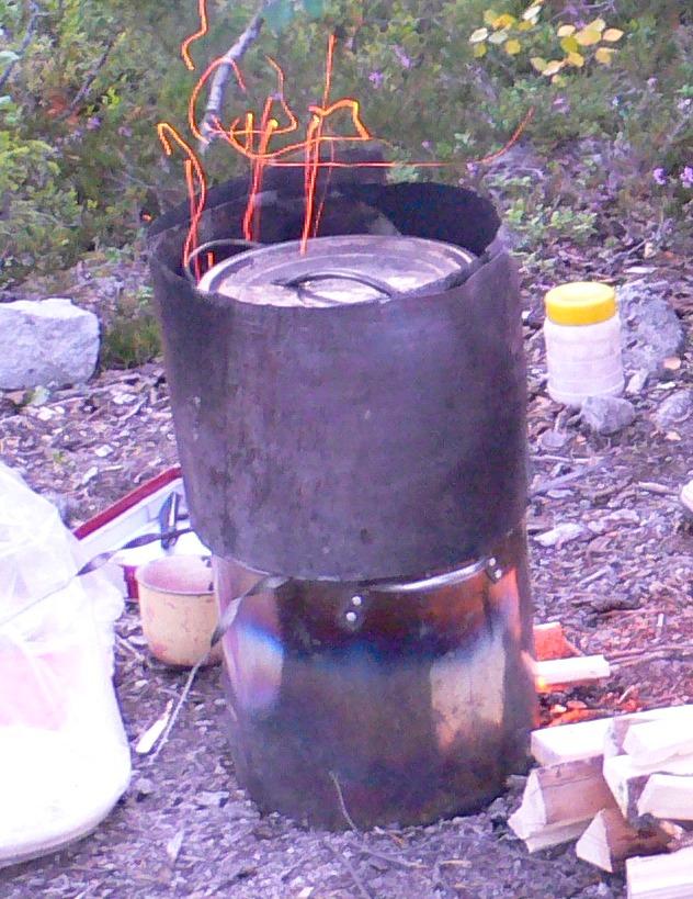 Печь для приготовления пищи на дровах своими руками 36