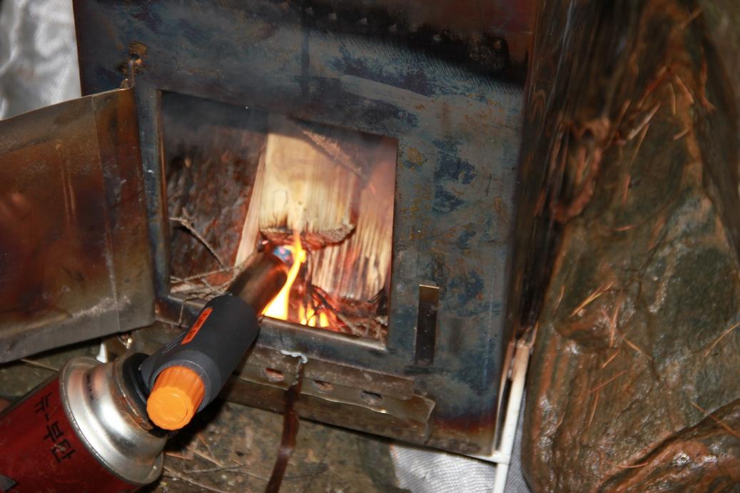 Печка для палатки 190