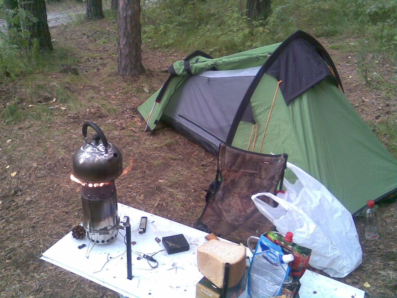 Отопитель палатки своими руками