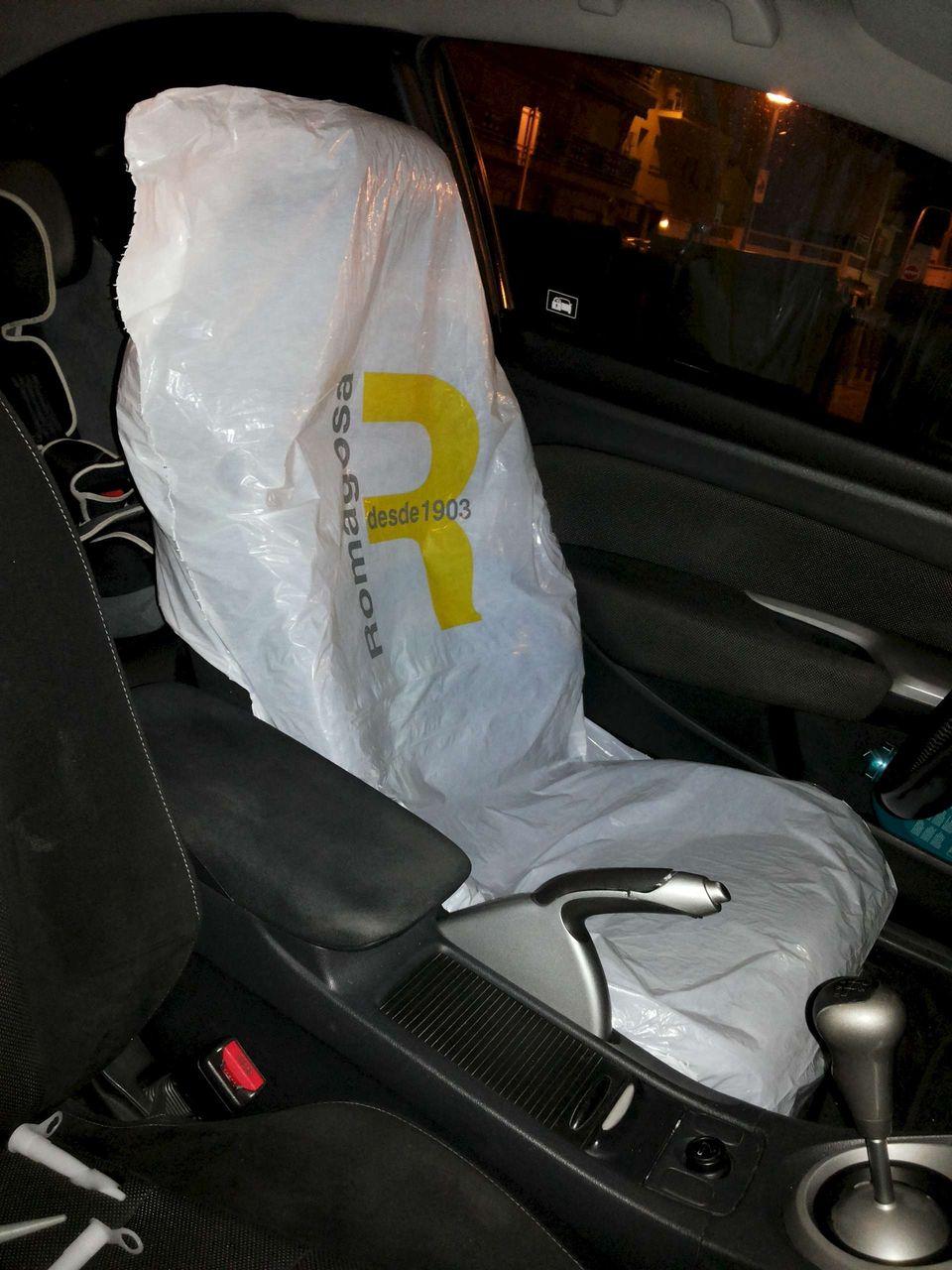 Пошив накидок на сиденья автомобиля 100