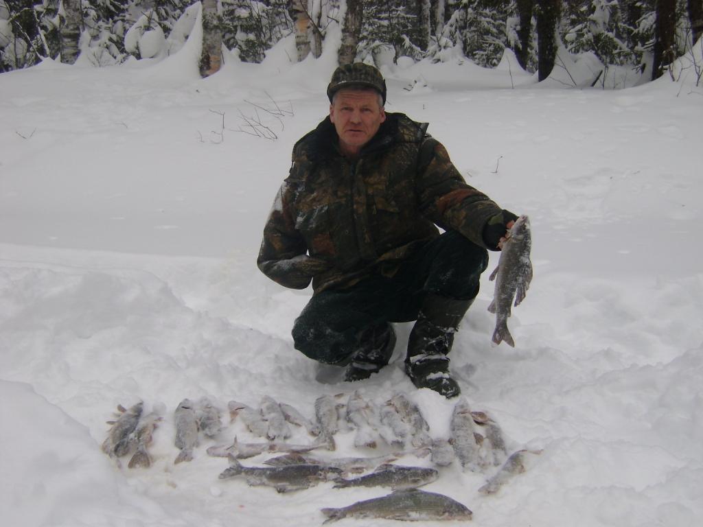 рыбалка в пермском крае видео