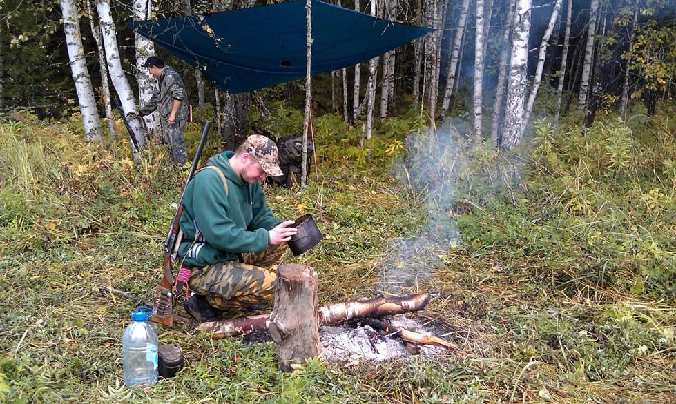 отдых осенью охота рыбалка