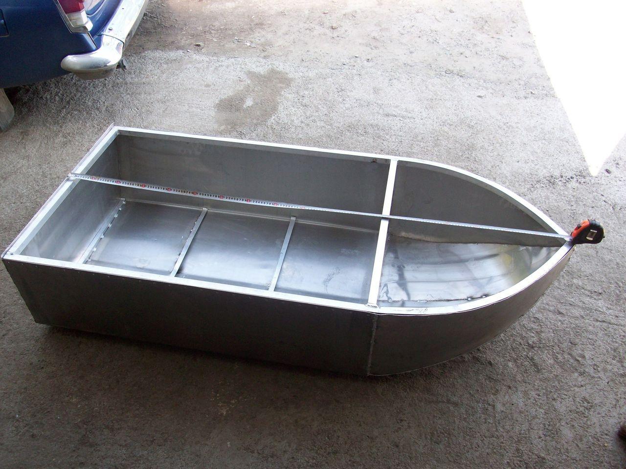 построить лодку из оцинковки