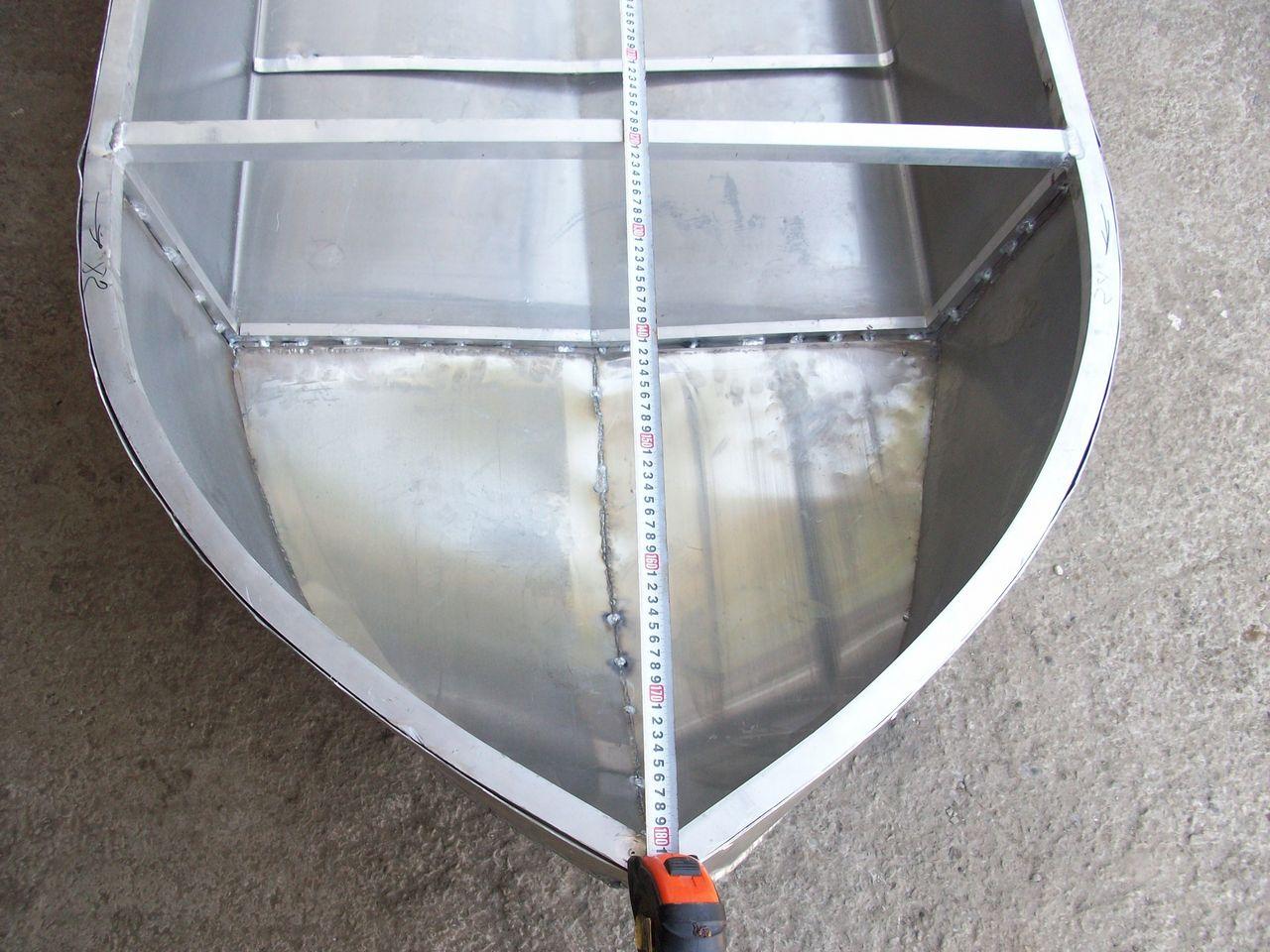 Чертеж лодки из алюминия своими руками