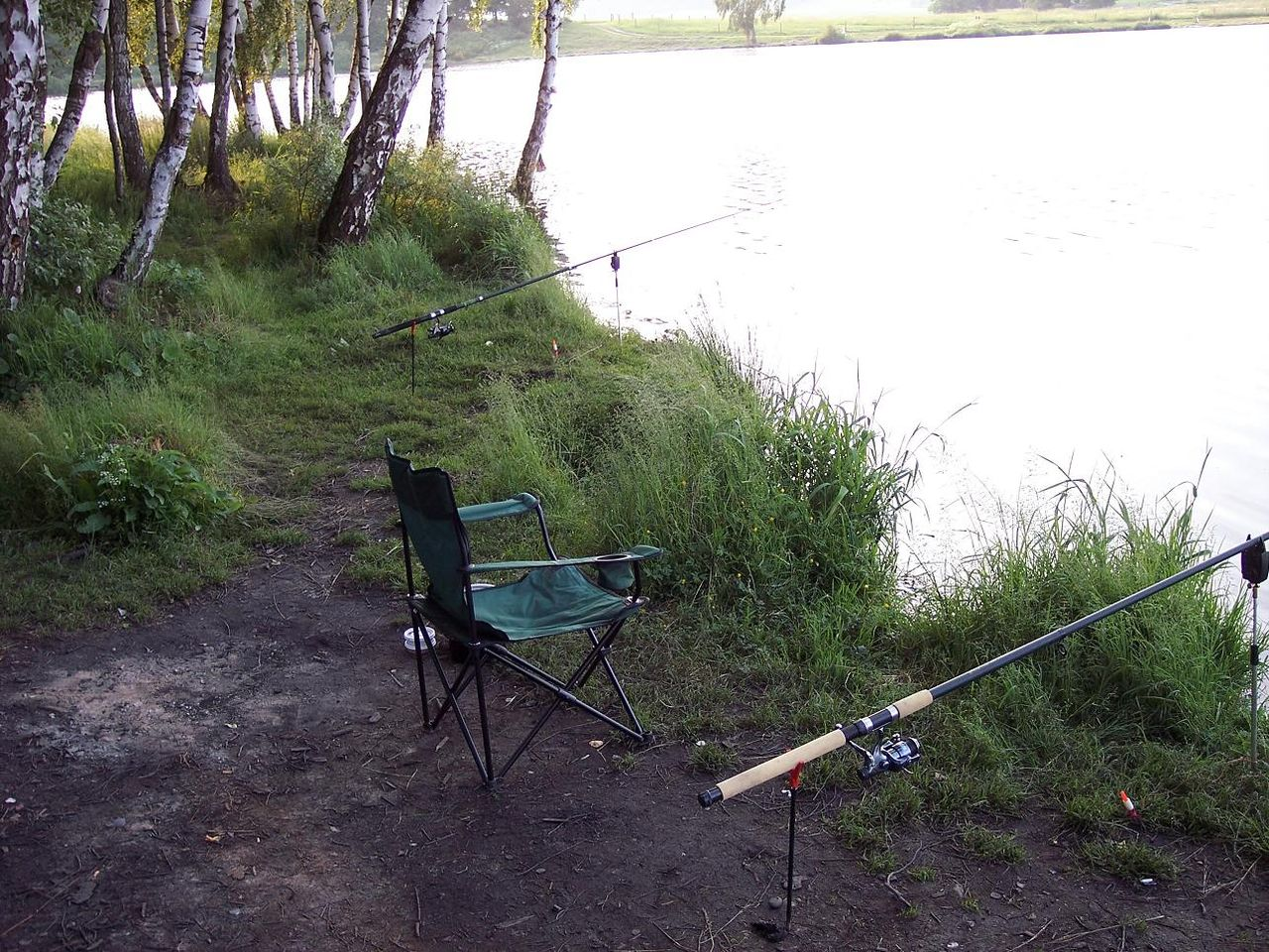поехали на рыбалку в мае