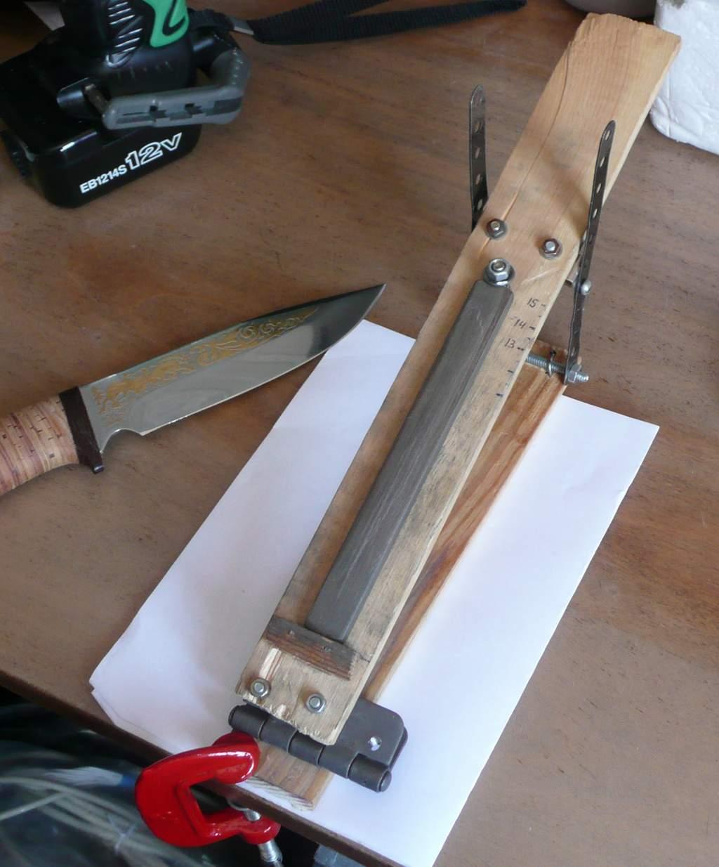 Заточка ножей сделать