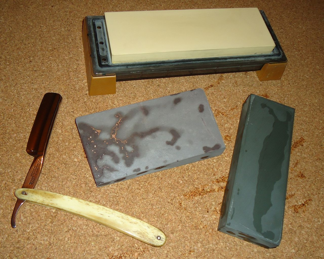 Как наточить бритву в домашних условиях