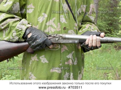 Орудия своими руками в лесу