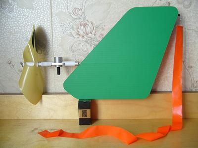 Фото как сделать флюгер самолет