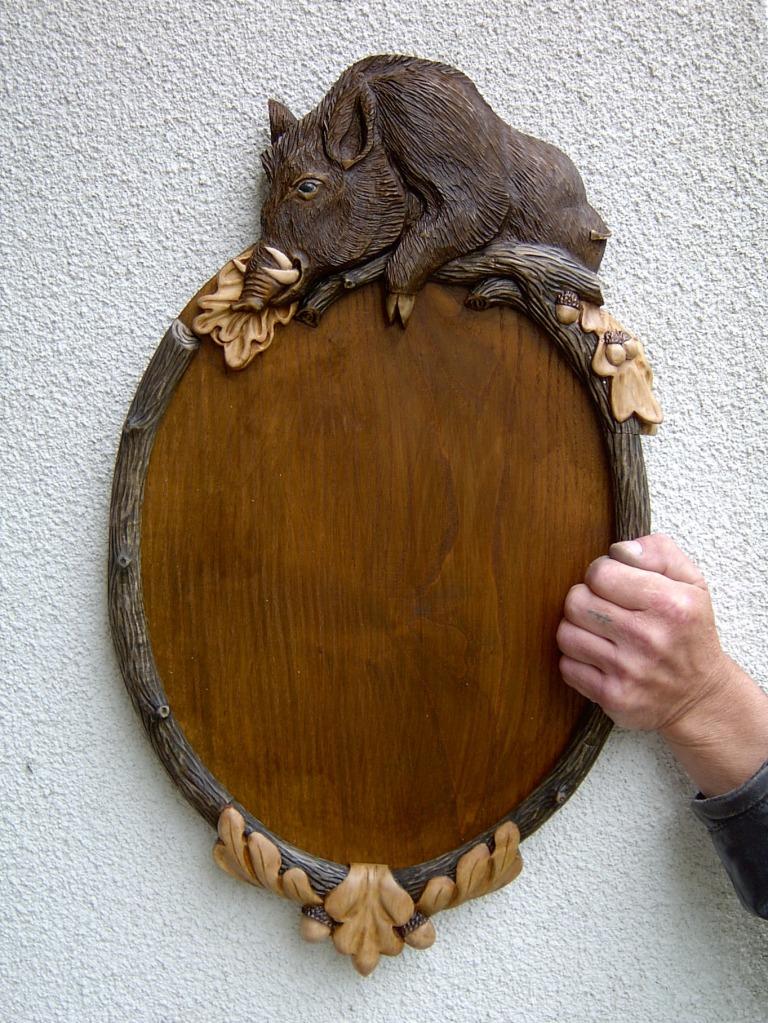 Медальоны для охотничьих трофеев своими руками