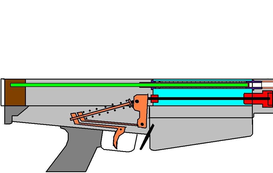 Пневмо ружье своими руками и их чертежи 9
