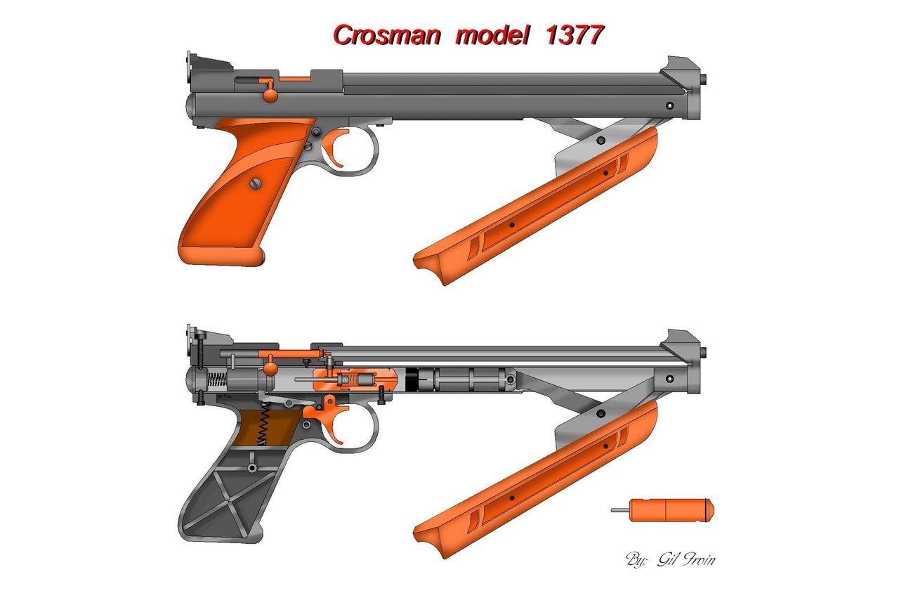 Кросман 1377 своими руками