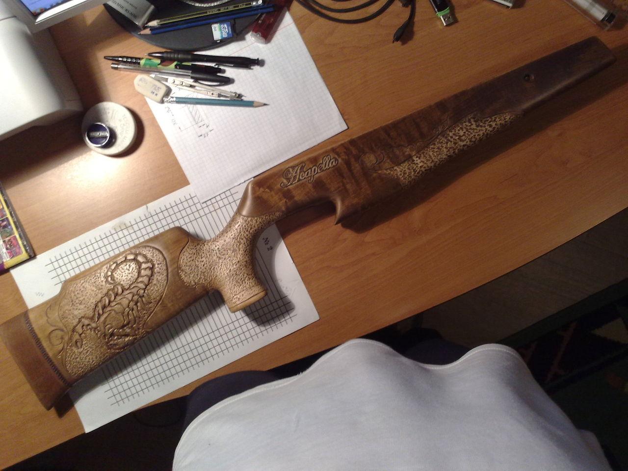 Мое первое ложе - описание процесса разработки и изготовления из фанеры 53