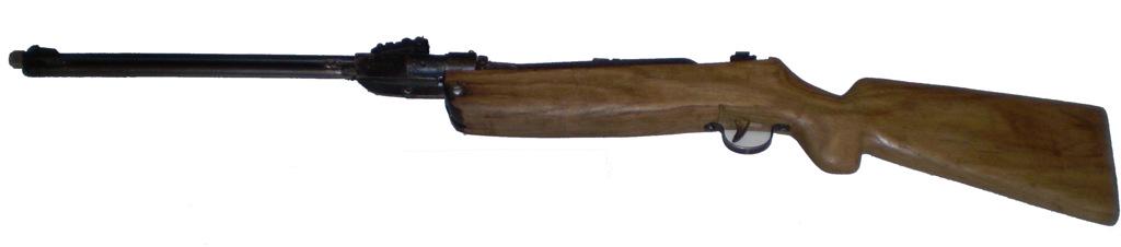 Как сделать пневматическую винтовку из дерева своими