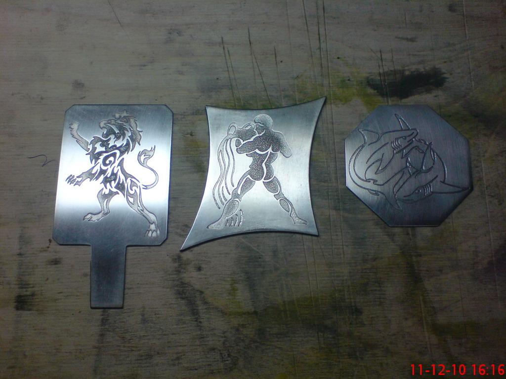 Травление по металлу своими руками