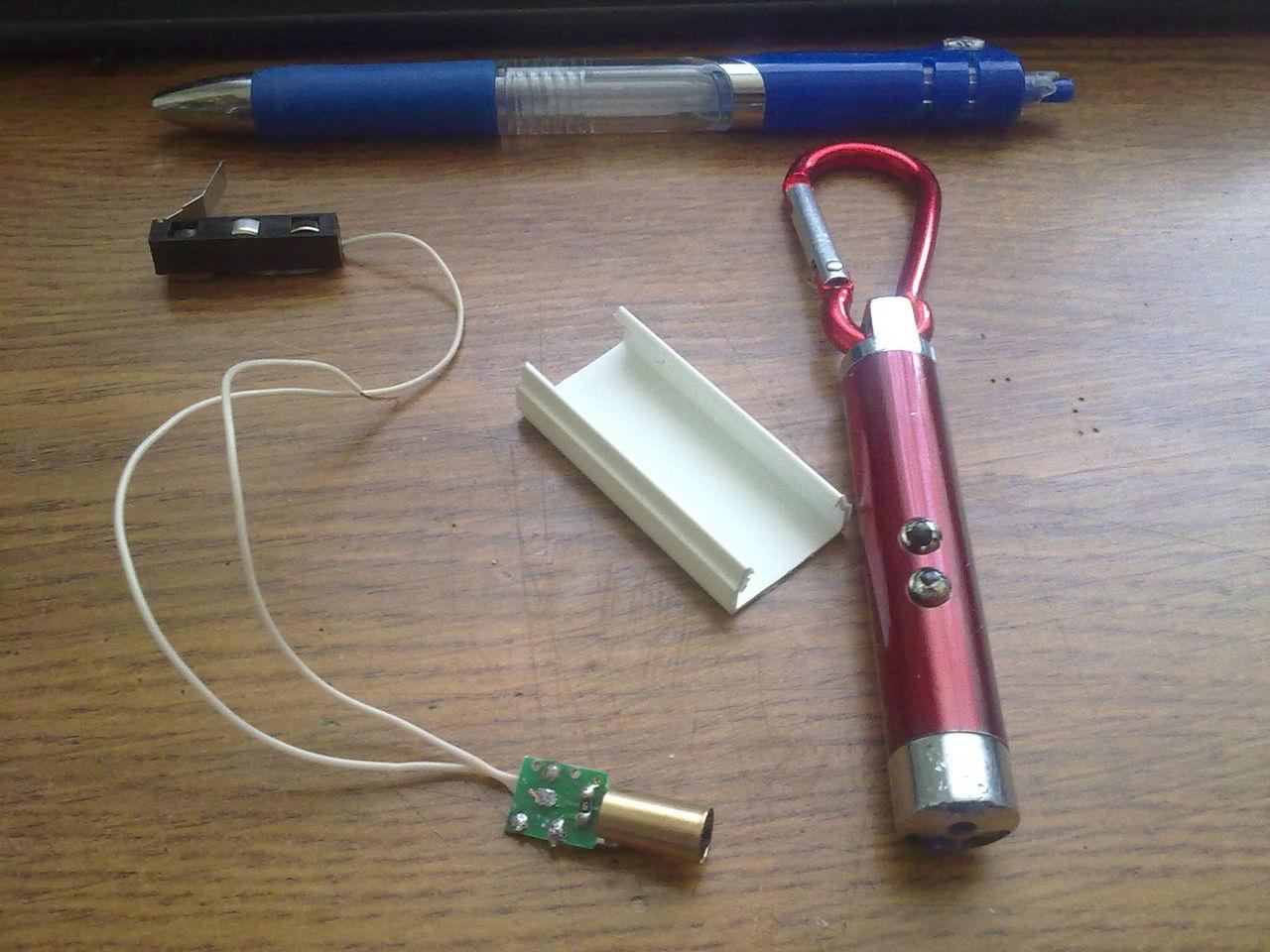 Лазерный прицел для пневматики своими руками фото 109