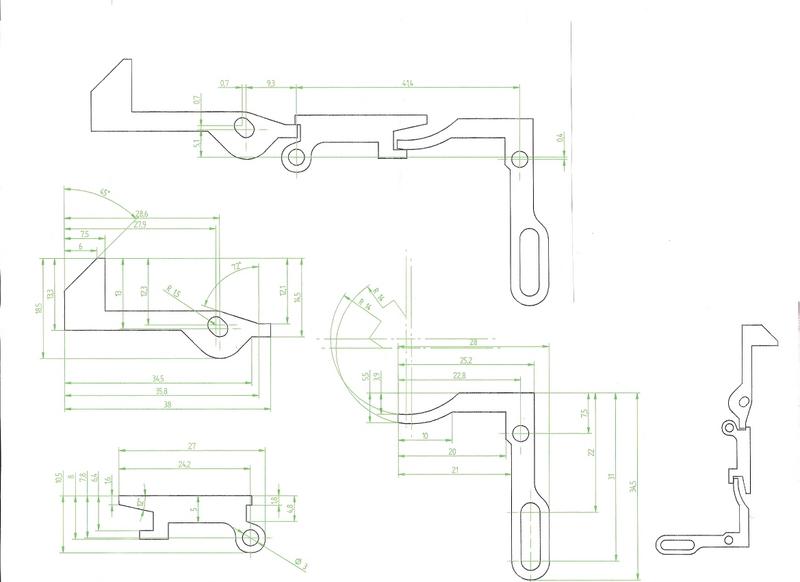 Ударно спусковой механизм своими руками чертежи буллпап 84