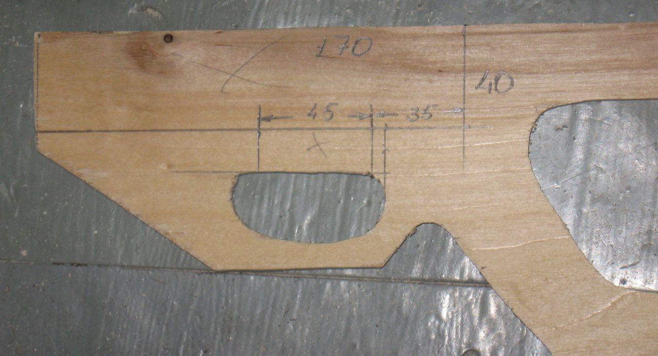 Мое первое ложе - описание процесса разработки и изготовления из фанеры 13