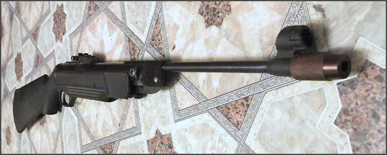 Самодельная муфта на МР-512 ... * Популярное оружие