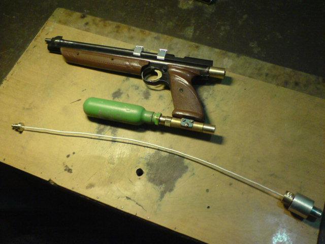 Самодельная пневматическая винтовка своими руками 138