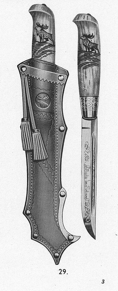 рисунки на ножнах