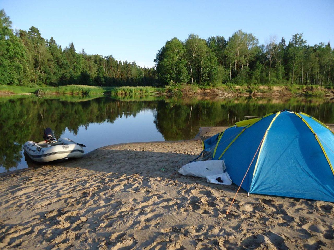 отдых и рыбалка с палатками томск