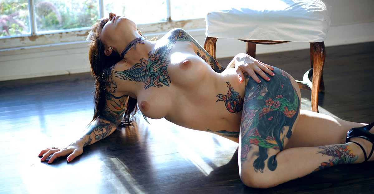 Sex hot nude girls with face tattoos