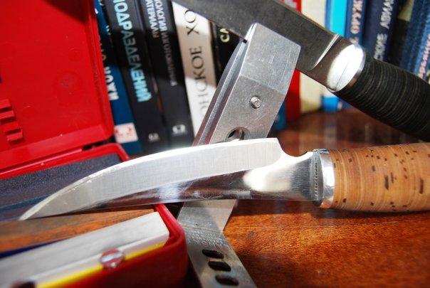 Как сделать тем чем точить нож