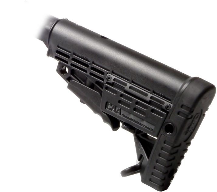 Приклад тактический телескопический САА.  Карабин гладкоствольный 'Вепрь-12 Молот' ВПО-205-00 (430)...