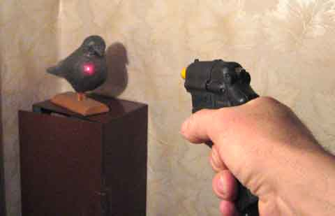 Как сделать лазерный патрон