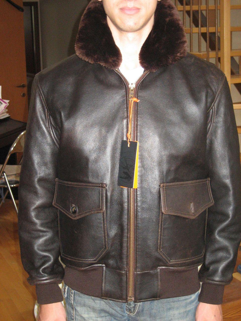 Купить Куртка Летная Кожаная Сша