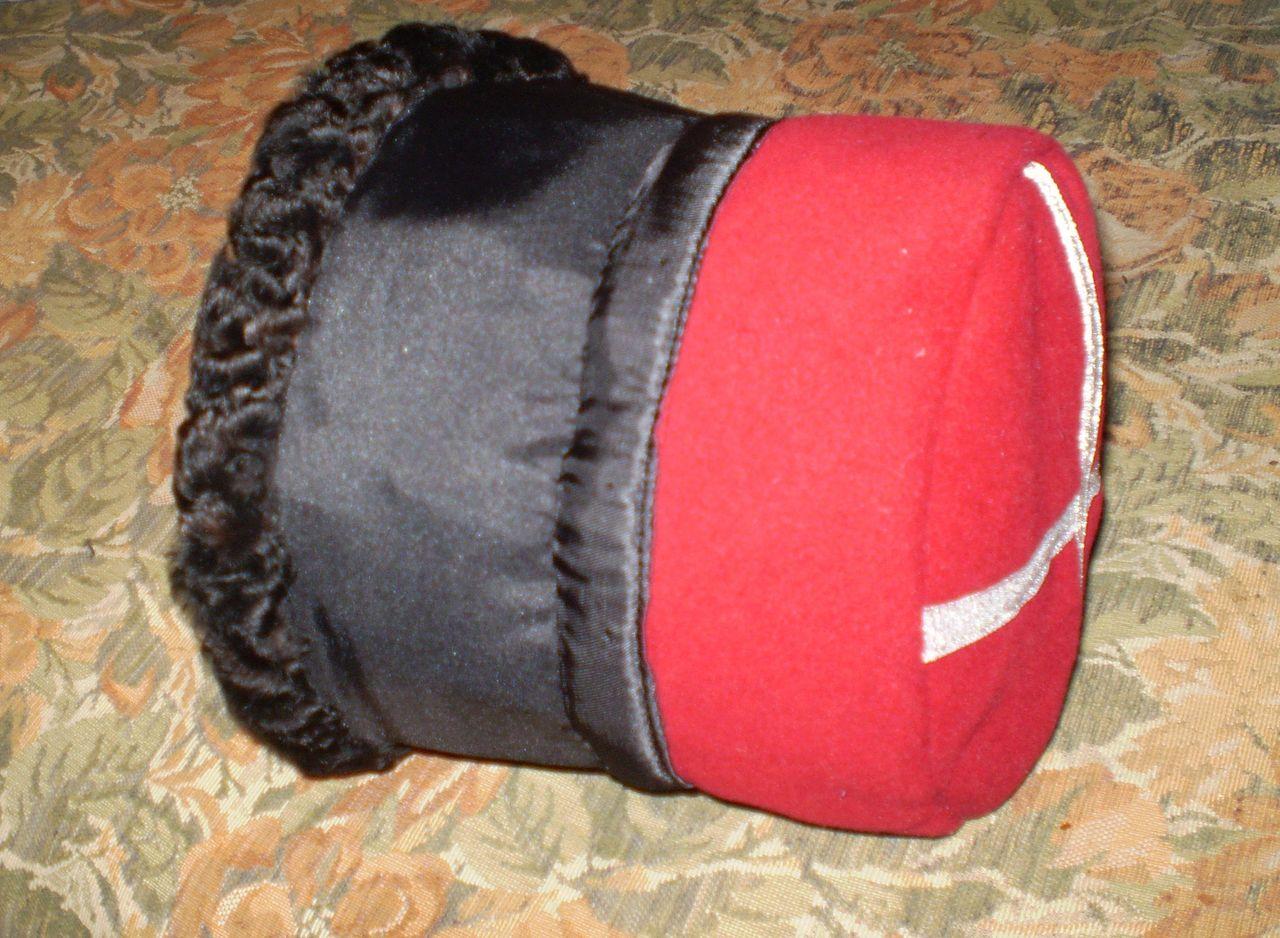 Как сделать грузинскую шапку своими руками 645
