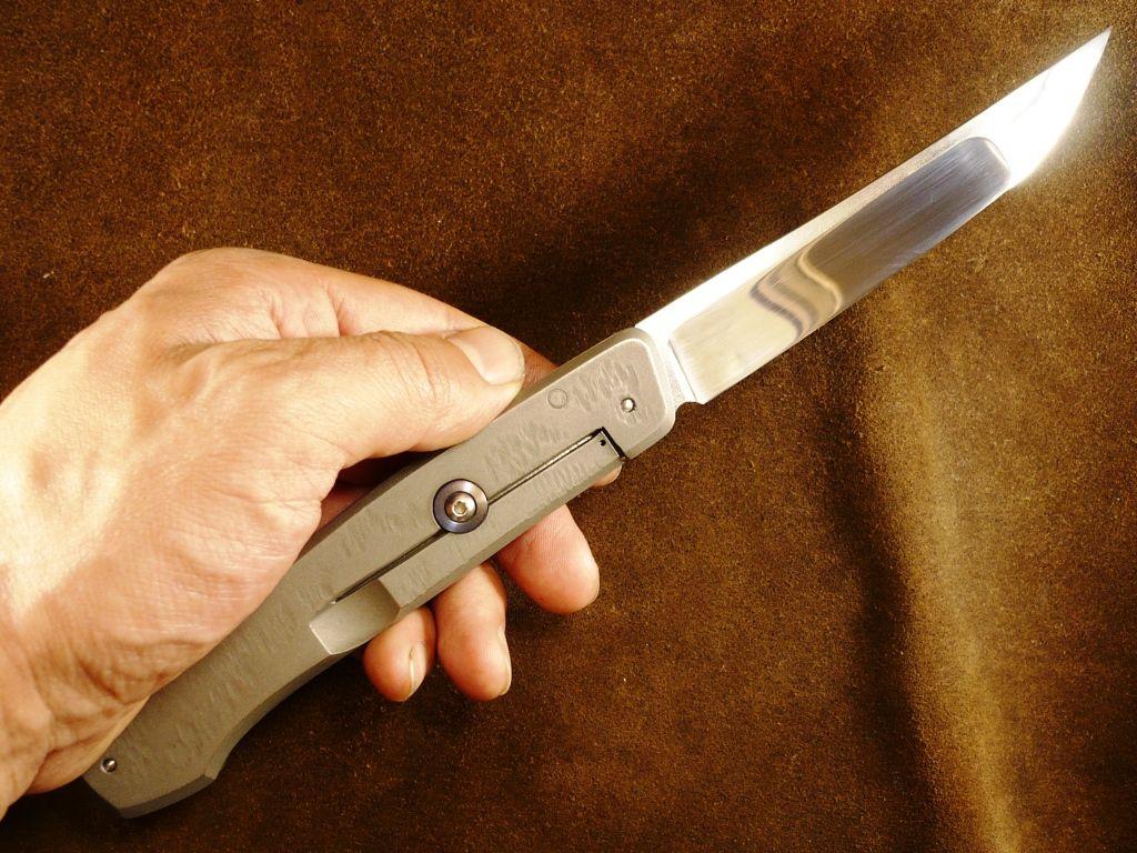 Раскладной нож своими руками