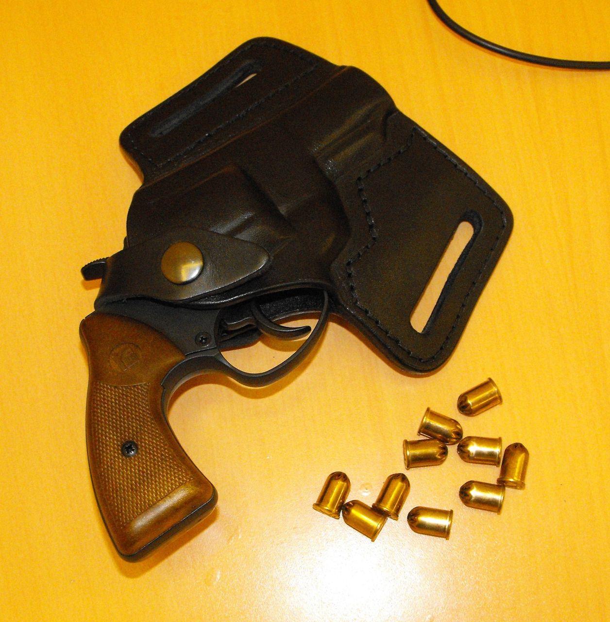 побороть револьвер страж как вдеть механизм пожалуйста можно носить