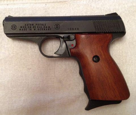 Подарили газовый пистолет