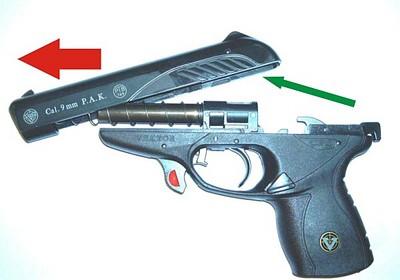 Как сделать себе газовый пистолет