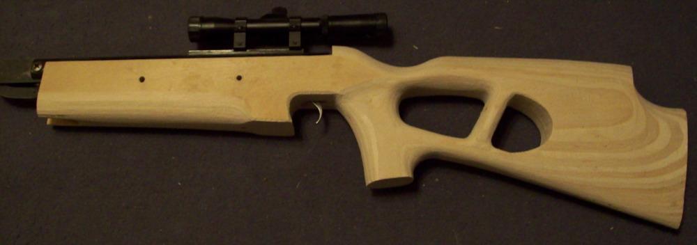 Своими руками приклад для пневматической винтовки