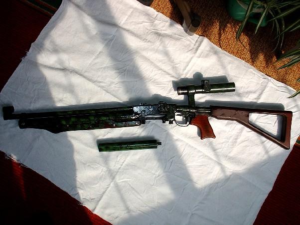 Общий внешний вид винтовки без глушителя.