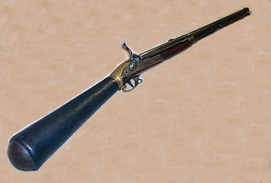 Как сделать пороховое оружие