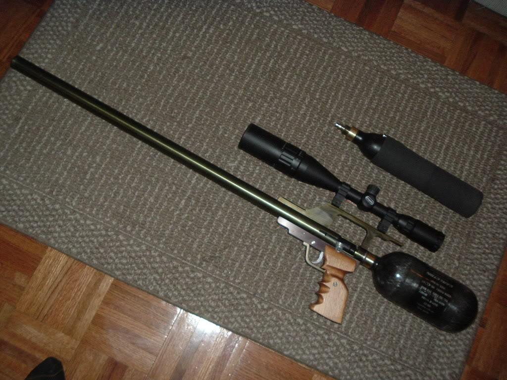 Сделать своими руками пневматическую винтовку