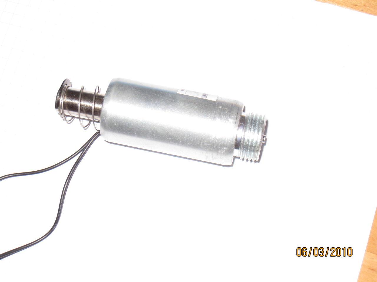 Электромагнитный клапан 12в своими руками