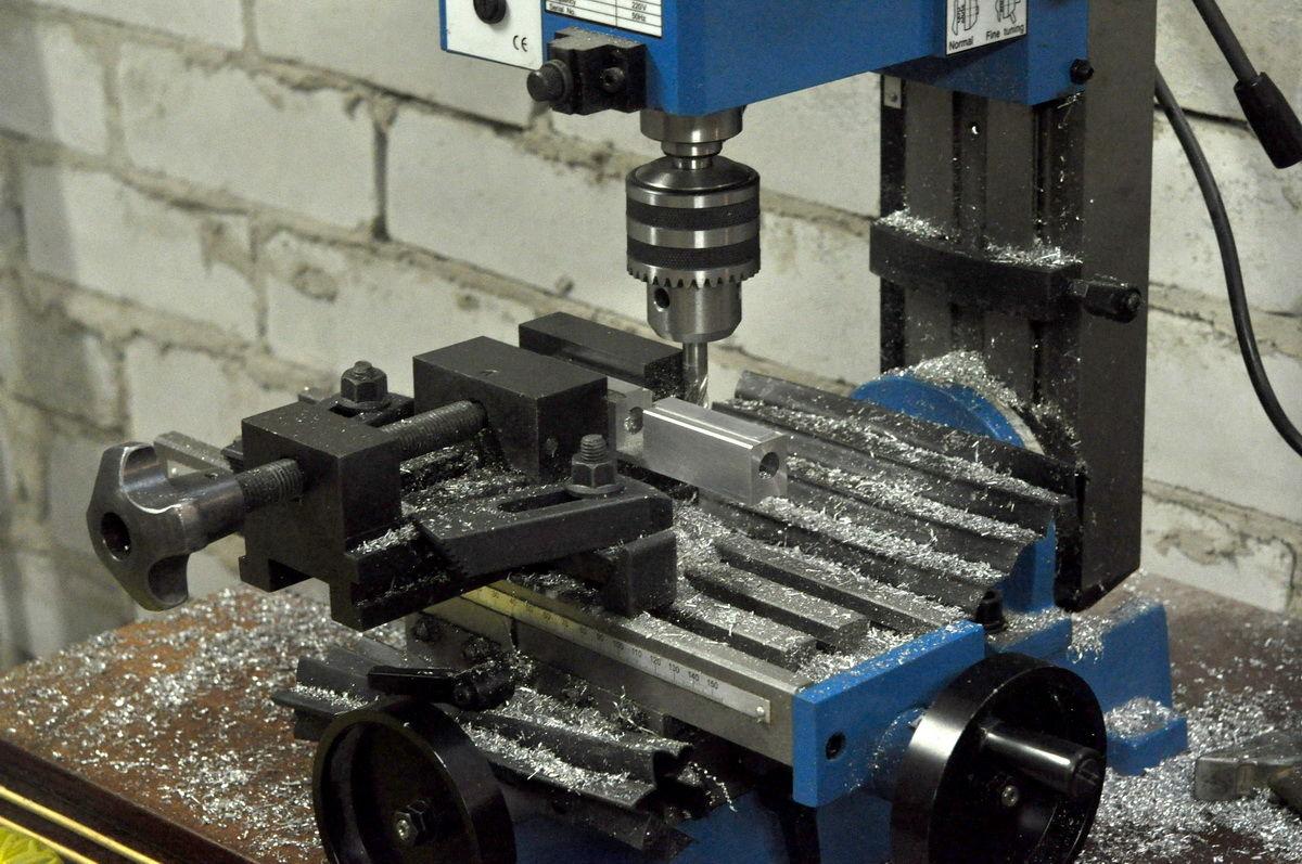 Как сделать фрезерный станок по металлу своими руками 20