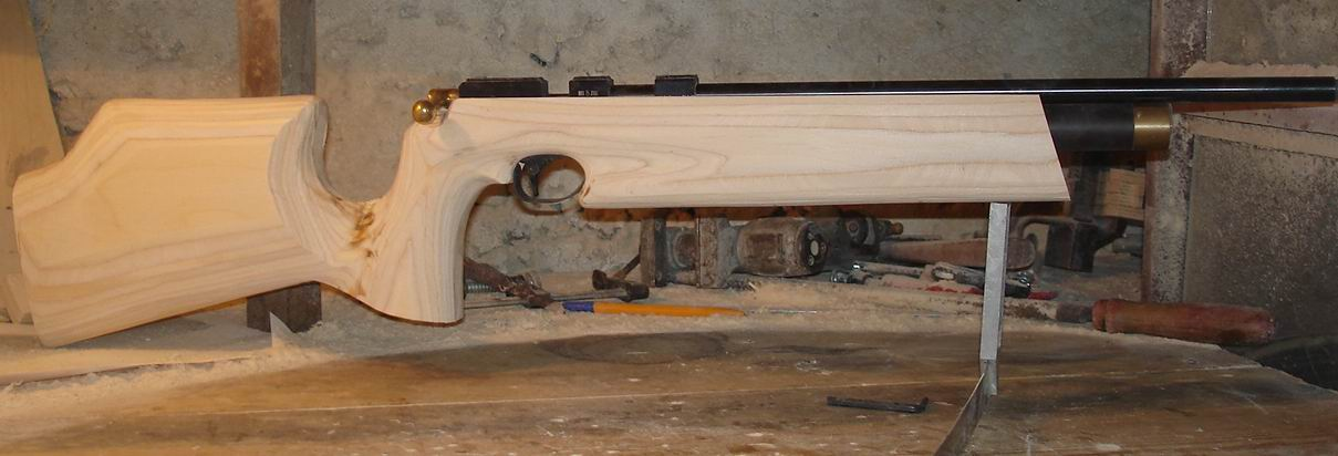 Деревянное ложе для пневматической винтовки своими руками