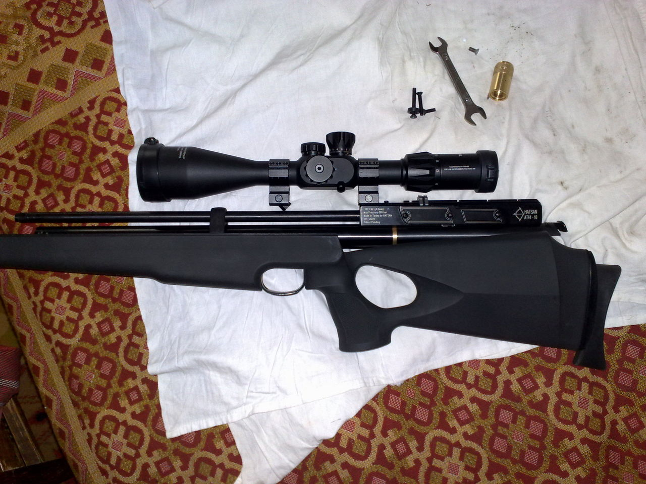 Еще немного про тюнинг Hatsan 44-10 Пневматическое оружие