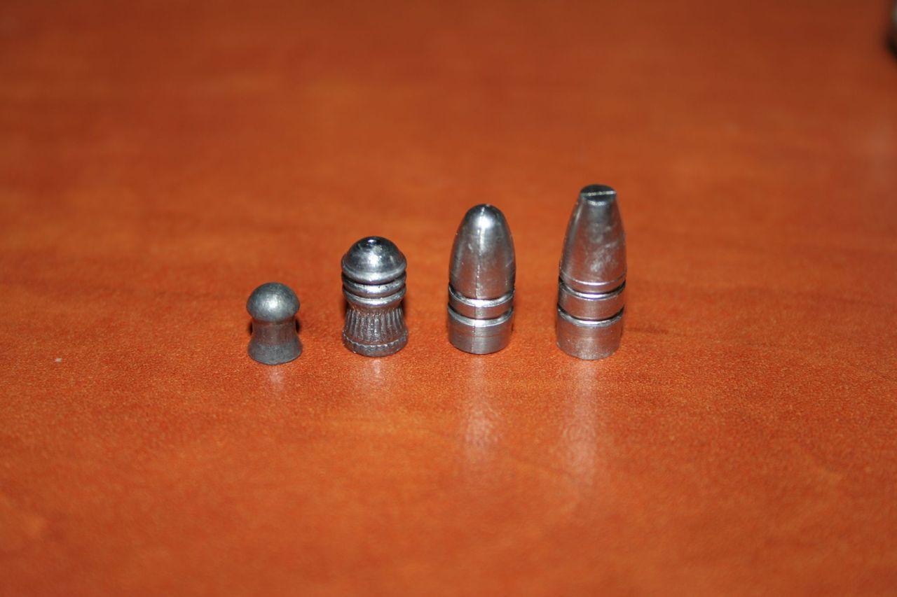 Как сделать пули для пневматики 4.5 мм