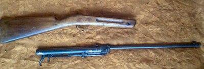 ...советского союза Хиленькая воздушка, прожившая долгую жизнь, полную пулек типа колпачек, самодельных кожаных...