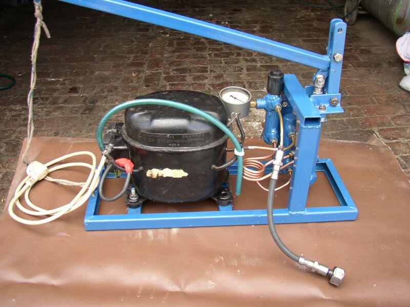 Как сделать компрессор для воды