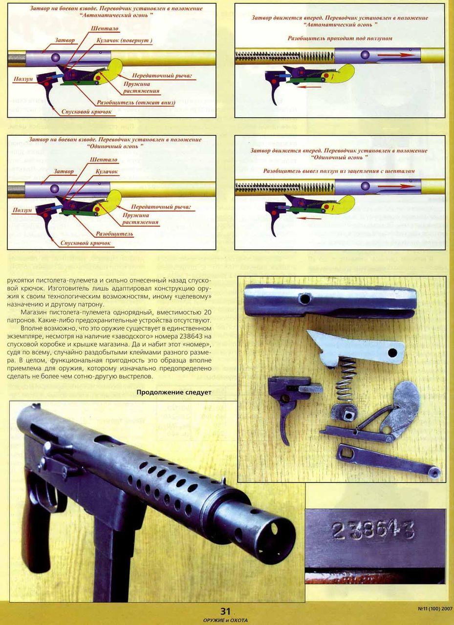 Сделать пулемет домашних условиях