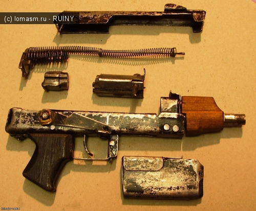 самодельный пистолет мелкашка чертежи